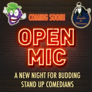 Joke and Mirrors Open Mic Standup Comedy Night at Smoke and Mirrors Bar Bristol | Wednesday 19 June 2019