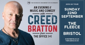 Creed Bratton live at The Fleece on Sunday 22nd September 2019