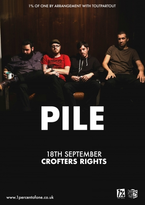 Pile at The Crofters Rights in Bristol on Wednesday 18th September 2019