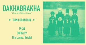 Dakhabrakha Live at The Lanes in Bristol on Tuesday 30th July 2019