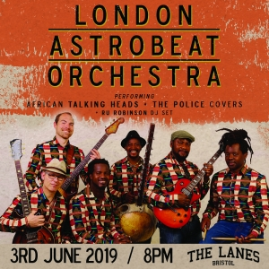 London Astrobeat Orchestra: A West African Tribute at The Lanes in Bristol on Saturday 23rd November 2019