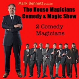 The House Magicians Comedy and Magic Show at Smoke and Mirrors Bristol every Friday and Saturday in November 2019