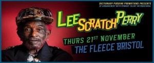 Lee Scratch Perry at The Fleece in Bristol on Thursday 21 November 2019