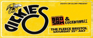 The Dickies at The Fleece in Bristol on Saturday 25 July 2020