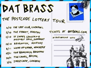 BLG PROMOTIONS PRESENTS:DAT BRASS at The Lanes in Bristol on Saturday 30th November 2019