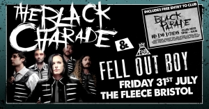 The Black Charade (My Chemical Romance tribute) + Fell Out Boy at The Fleece in Bristol on Friday 31 July 2020