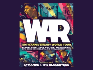WAR at O2 Academy in Bristol on Saturday 13 June 2020