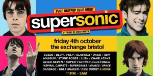 SUPERSONIC at Exchange in Bristol on Friday 1 November 2019