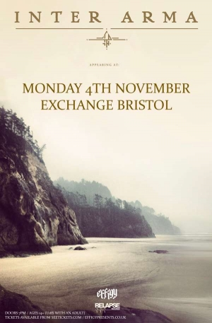 INTER ARMA at  Exchange in Bristol on Monday 4 November 2019