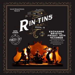 THE RIN TINS at  Exchange in Bristol on Friday 8 November 2019