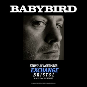 BABYBIRD at  Exchange in Bristol on Friday 15 November 2019