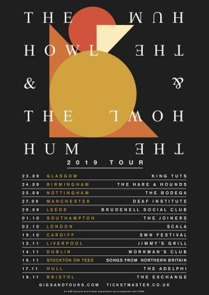 THE HOWL & THE HUM at  Exchange in Bristol on Tuesday 19 November 2019
