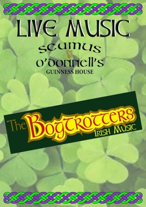 The BogTrotters Irish Band at Seamus O'Donnell's in Bristol on Friday 18 October 2019