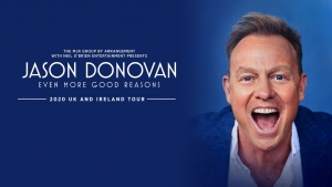 Jason Donovan - Even More Good Reasons at The Bristol Hippodrome on 3 October 2021
