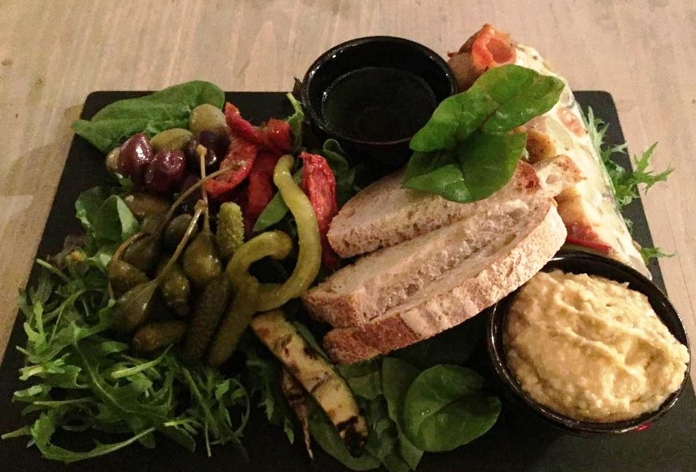 Bocabar - Bristol Food Review - Vegetarian Antipasti