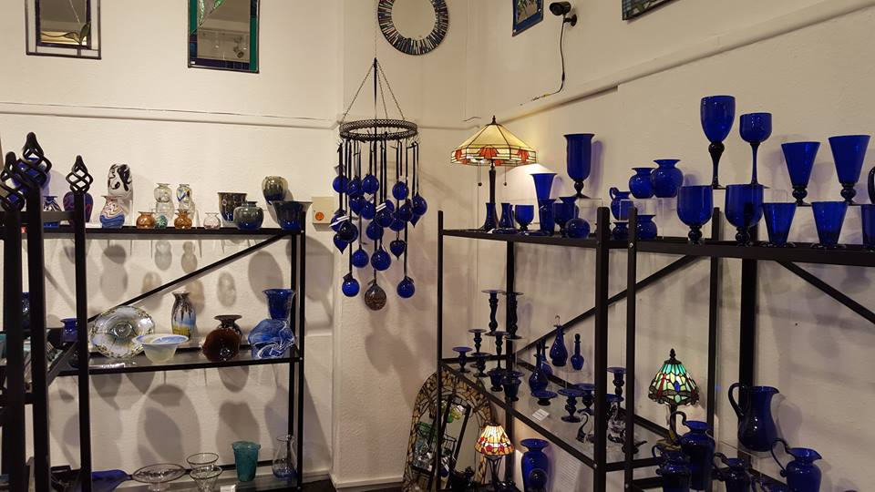 Bristol Blue Glass studio and showroom