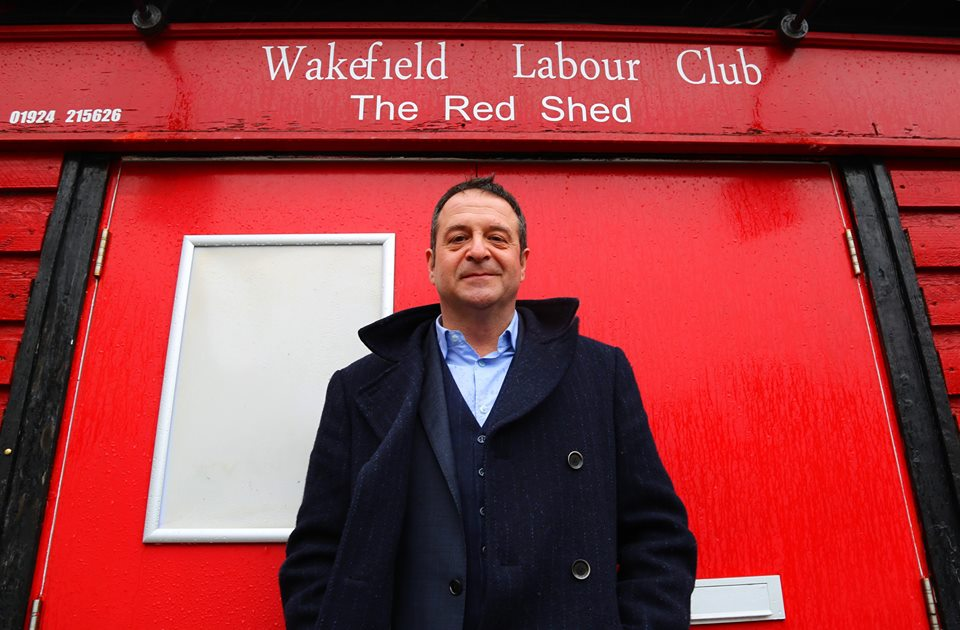 Mark Thomas: Red Shed - Wednesday 21st and Thursday 22nd September