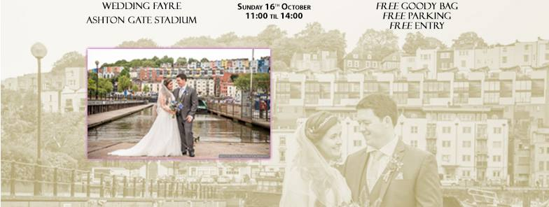 Ashton Gate Stadium Wedding Fayre - Sunday 16 October 2016