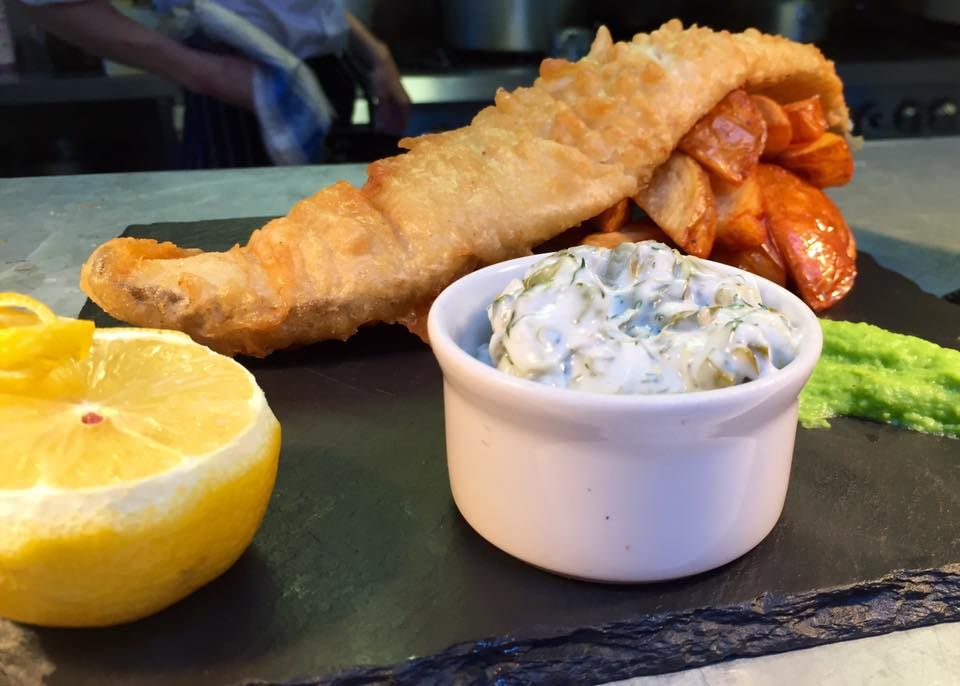Fish and Chips at The Nook in Bristol