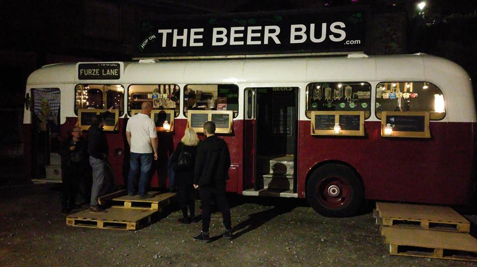The Beer Bus at Bristol Oktoberfest