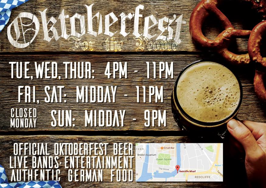 Bristol Oktoberfest For The People - Redcliffe Wharf