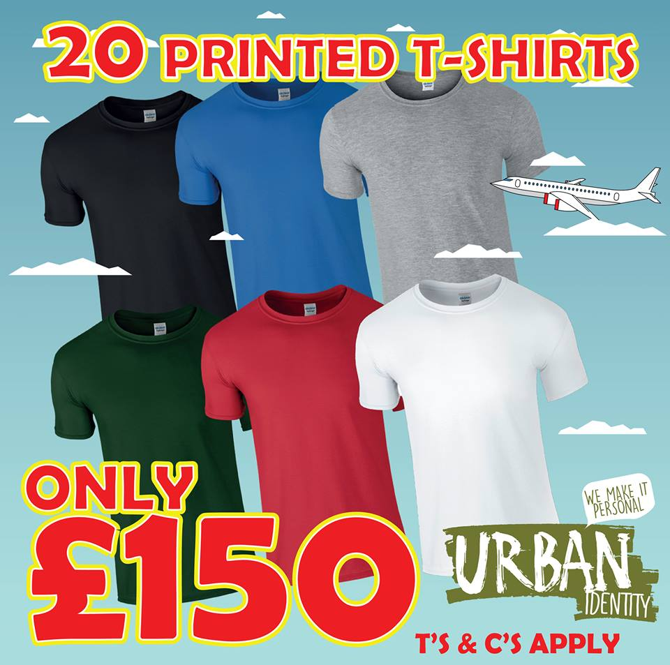 Offers available at Urban Identity