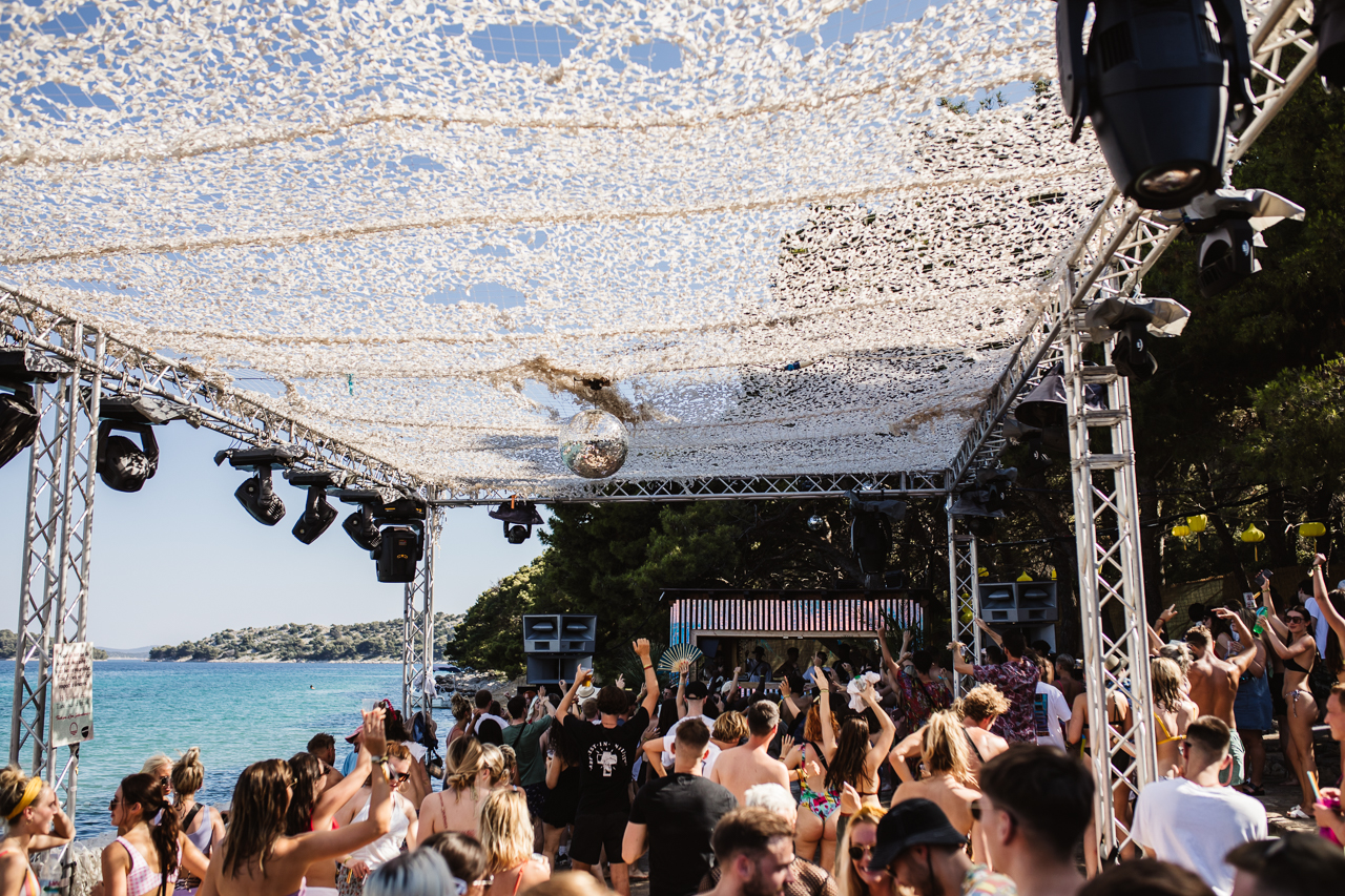The Beach Stage at Love International Festival 2019. Image: Jake Davis // Khroma Collective