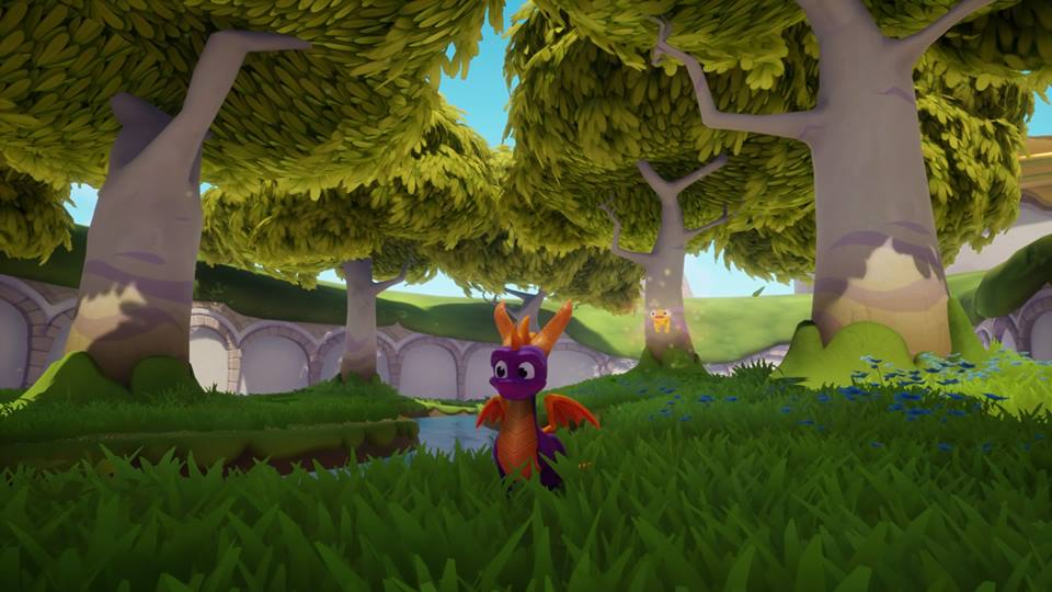 Spyro Reignited on PS4.