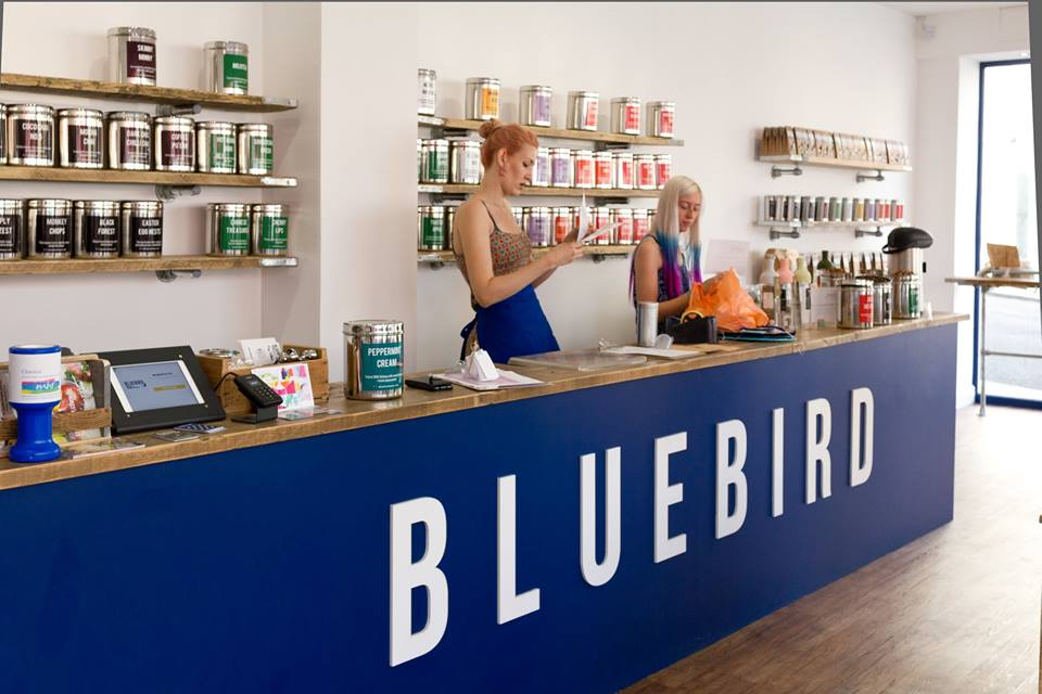 Blue Bird Tea