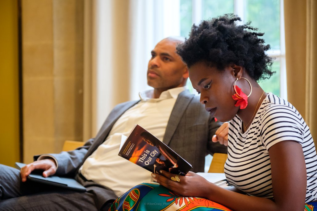 Marvin Rees and Vanessa Kisuule