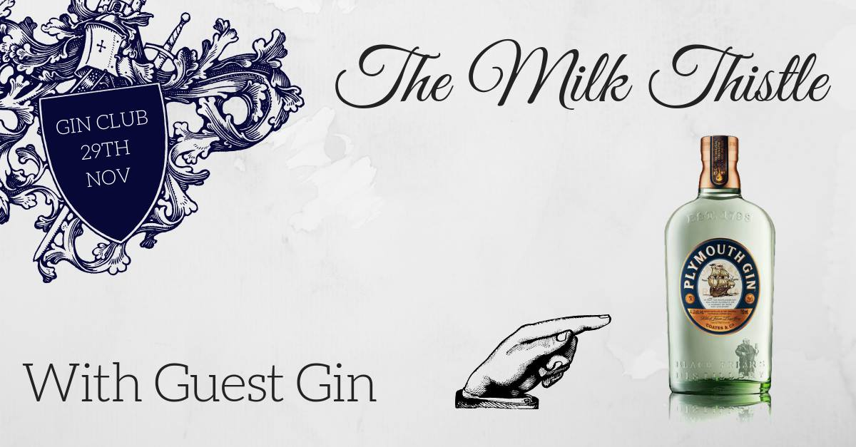 Special event this weekend @ The Milk Thistle