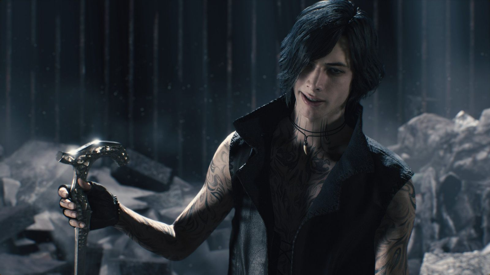 Devil May Cry 5 on PS4.