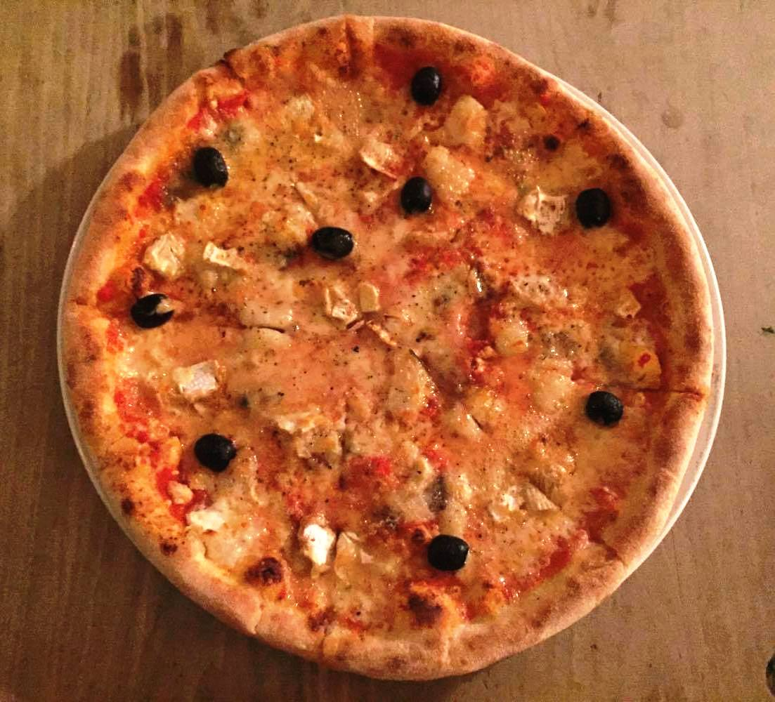 Bocabar - Bristol Food Review - Five Formaggi Pizza