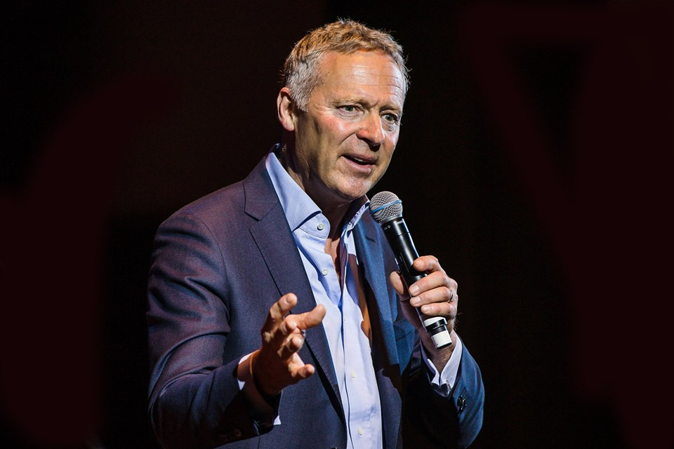 Rory Bremner at St George's