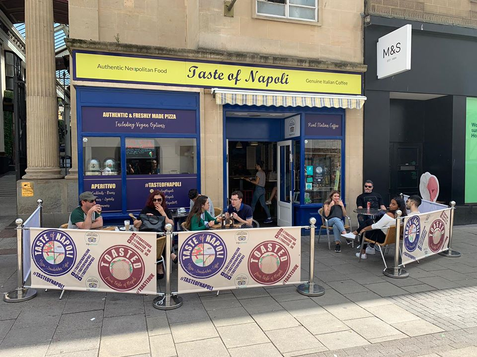 Taste of Napoli relaunch delivery options