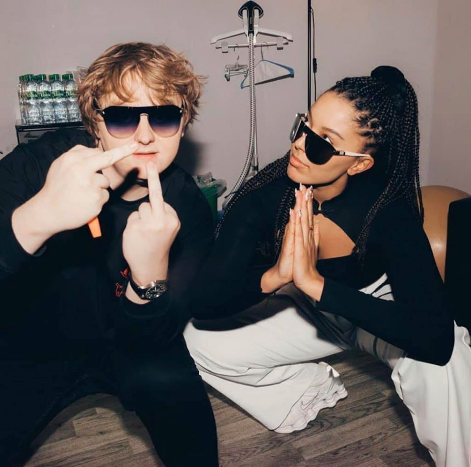Grace Carter and Lewis Capaldi
