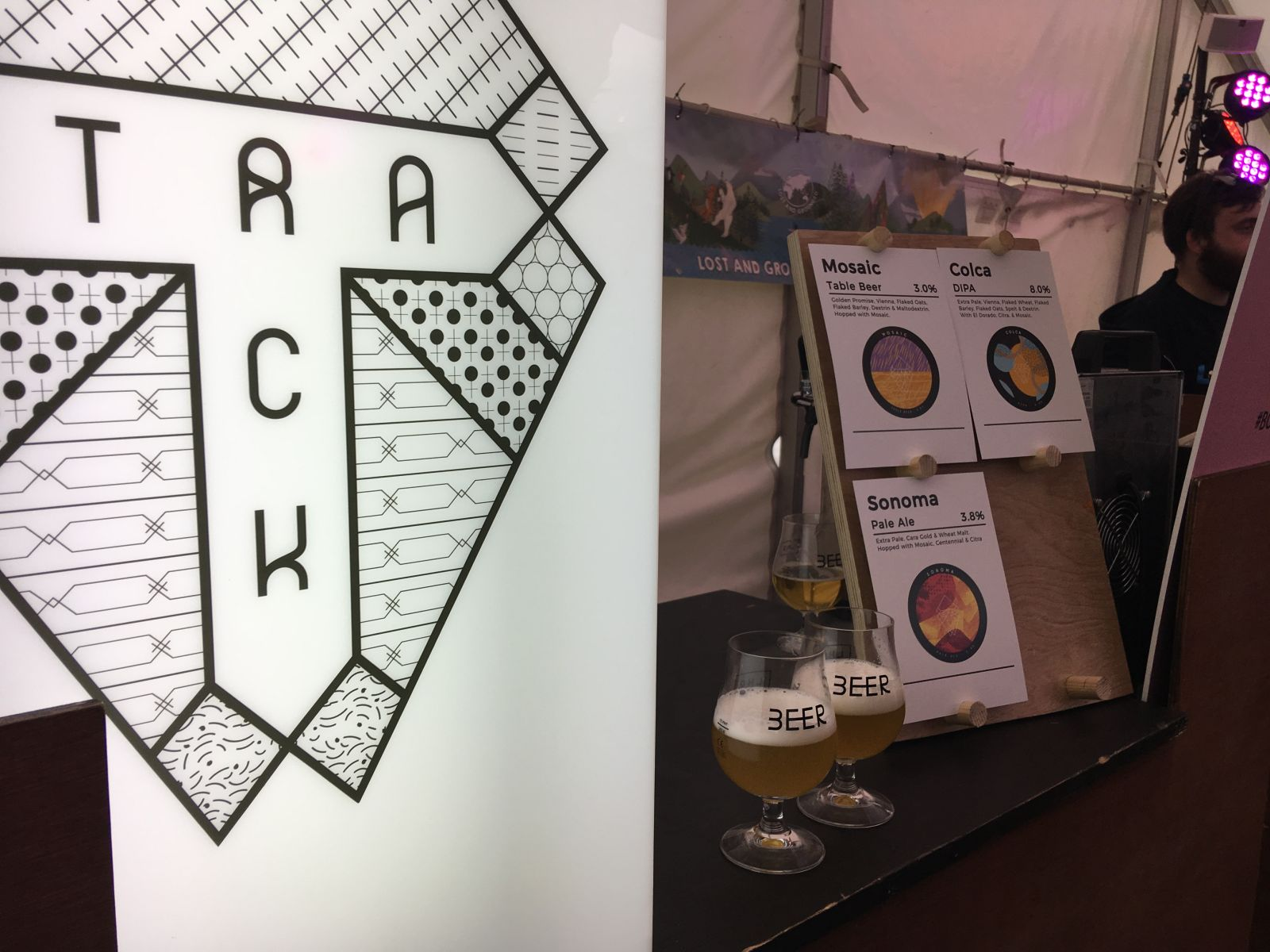 Track's Sonoma was one of the best beers we tried at the 2018 BCBF.