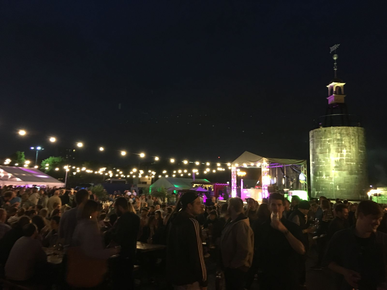 Organisers took over the Lloyd's Amphitheatre for the 2018 Craft Beer Festival.