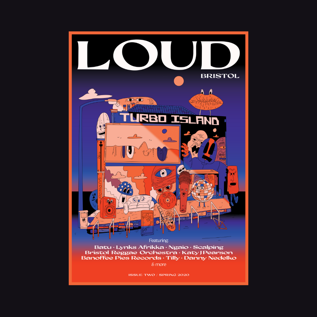 LOUD Magazine: Cover Design