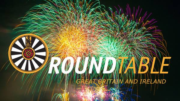 Downend Round Table Fireworks 2019.