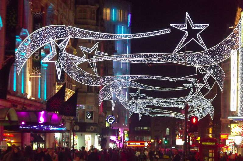 Christmas Lights Switch-On at Gloucester Road in Bristol