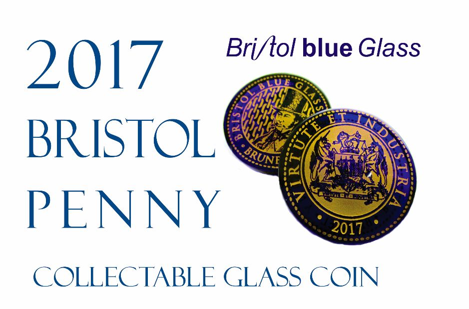 2017 Bristol Blue Glass Penny