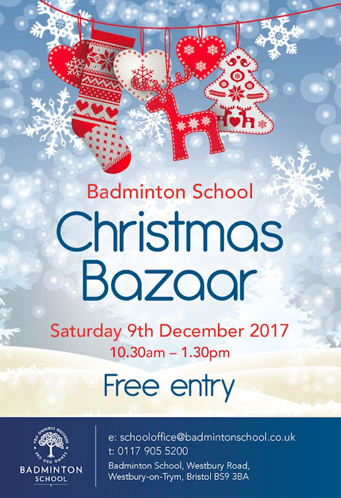Badminton School Christmas Bazaar In Bristol
