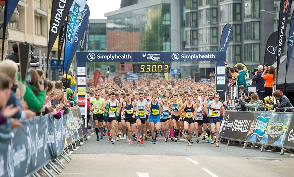 Last year's event saw thousands of people take part in the annual Bristol 10k.