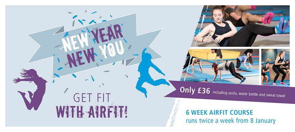 AirHop's weekly AirFit classes are a great way to get in shape after the festive period.