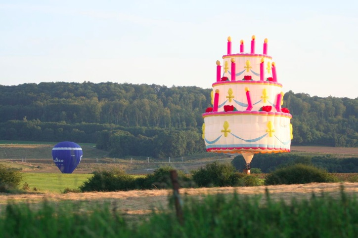 40 special shapes for 40yr anniversary of Bristol Balloon Fiesta