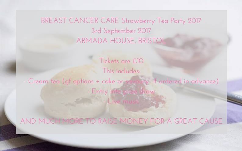 Breast Cancer Care charity event at Armada House in Bristol