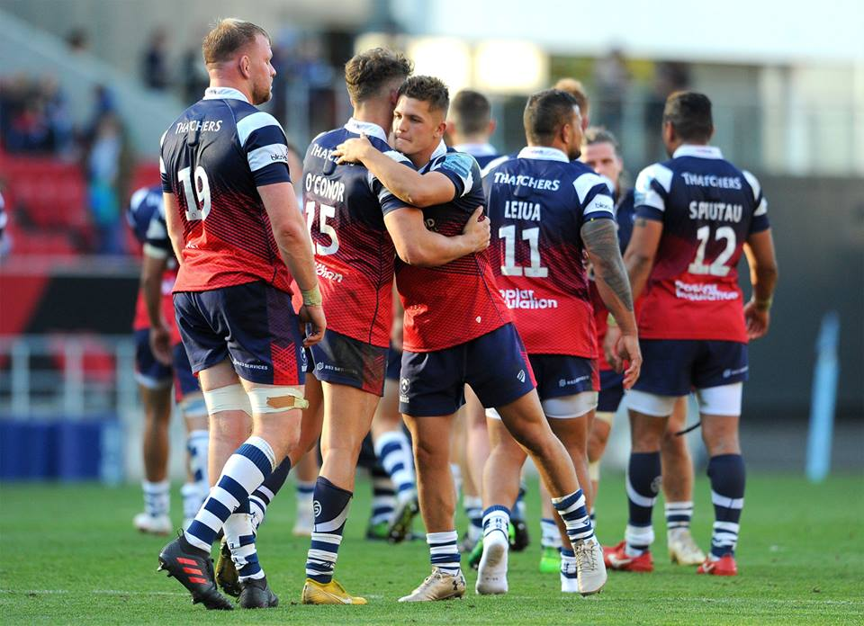 Bristol Bears in action in the Gallagher Premiership.