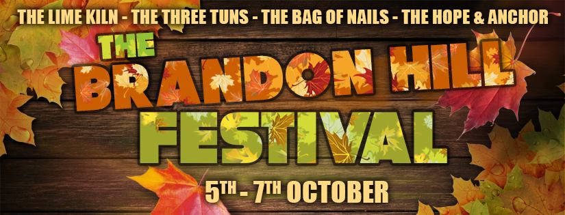 The Brandon Hill Beer Festival will run from 12pm-10pm on Friday 5th October.