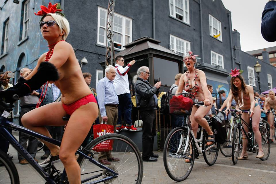 The Bristol Naked Bike Ride.